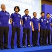 3月1日、都内でおこなわれたヤマハ・モータースポーツ活動計画発表会。