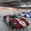 この日は往年の名車も多数展示された。