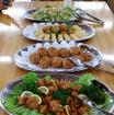 埼玉県宮代町の複合観光農園「新しい村」で3月に行われたホンダ新型耕うん機シリーズ体験会。昼食は「新しい村」で採れた食材と地元っ子による手料理を