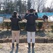 埼玉県宮代町の複合観光農園「新しい村」で3月に行われたホンダ新型耕うん機シリーズ体験会。新しい自走式小型耕うん機「サ・ラ・ダ FF500」や小型耕うん機「こまめ」「プチな」を畑で実際に走らせてみた
