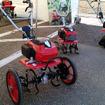 埼玉県宮代町の複合観光農園「新しい村」で3月に行われたホンダ新型耕うん機シリーズ体験会