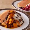 マンゴー&バターミルクパンケーキ 季節のフルーツ添え