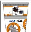 BB-8 ANA JET専用紙コップ