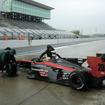 昨年11月のテストで関口はインパル20号車をドライブした。