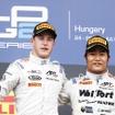 昨季GP2で僚友だったバンドーンと松下信治。