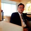 アウディツインカップジャパンファイナル会場に駆けつけたアウディジャパン代表取締役・齋藤徹氏