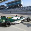 #36 ロッテラーがデモレース中の最速タイムを記録。