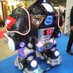 コーエイがレンタルする搭乗型ロボットゲーム機「バトルキング」