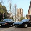 フェラーリ 365GTB/4 デイトナ(左)と365GTC/4(右)