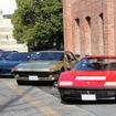 右からフェラーリ 512BB,365GT4 2+2、テスタロッサ