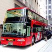 3月15日に都内で公開されたレストランバス。2階建て三菱ふそう『エアロキング』がベースで、4月30日から新潟を駆ける