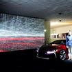 谷川じゅんじ氏、アーティスト・平川紀道氏、「LC500」デザイナー・森忠雄氏が登壇したトークショー「人間の感性とテクノロジーが切り開く、表現の新しい地平」(六本木ヒルズ森タワー52階 東京シティビュー、3月15日)