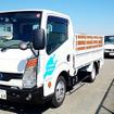 日産小型商用車(LCV)ラインナップ展示(大磯)で試乗できた電気トラック『e-NT400』