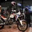 CRF1000L Africa Twinをベースに、アドベンチャーイメージをより際立たせたコンセプトモデル、Africa Twin Adventure Sports Concept。