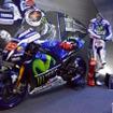 MotoGPマシンも展示された。