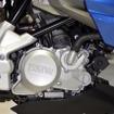 4ストローク単気筒313ccエンジンを搭載するBMW Motorrad G310R。