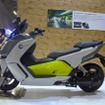 BMW Motorradの電動スクーター、C evolution。