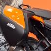 本邦初公開となったKTMのスーパースポーツツアラー1290 SUPER DUKE GT。