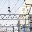 ゆっくりと札幌運転所へ引き上げる下り最終『はまなす』の回送列車。