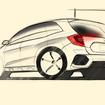 ホンダ CR-V 次期型レンダリングスケッチ