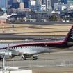 名古屋空港の展望デッキ左側からこのような状態でMRJの姿が見えた場合、試験飛行が実施される可能性が高い。