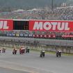 MotoGPスタートシーン(2015年)