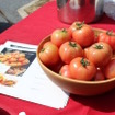 今年の春のメニューの主役は「ぶすっこトマト」艶といい酸味甘さといい、バランスの良いトマトは幅広い料理の中で存在感を分ける役者だ。