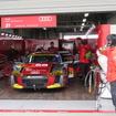 Audi Team HitotsuyamaのR8 LMS(#21)。