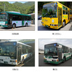HD西広島、第一タクシー、中国バス、鞆鉄道
