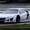 アキュラ NSX GT3の開発テスト