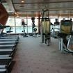 船内のトレーニングルーム