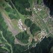 栃木県佐野市、スバル研究実験センターの上空写真
