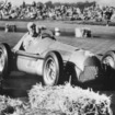 13 May 1950, Silverstone: Farina wins the first Grand Prix of Europe on Alfa Romeo 158