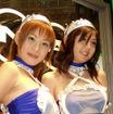 【オートサロン2002速報】過激!! コンパニオンの衣装はフルブースト!