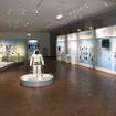 学習エリアのロボットゾーン。中央に初代ASIMOが立っている