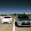 レクサスLFA 対 日産GT-R
