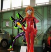 プリウスがヱヴァ初号機に変身…箱根町でアニメイベント