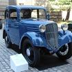 トヨタ博物館が保有する筑波号。国産初の前輪駆動車。
