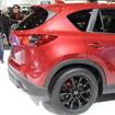 ローダウン&ホイールブラック塗装のCX-5 マツダが提案