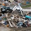 東日本大震災発生から3か月。宮城県南三陸町付近