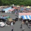 """5月26日と27日に開催されるハーレーダビッドソンの祭典""""BLUE SKY HEAVEN in FUJI SPEEDWAY""""(写真:2011年開催のようす)"""