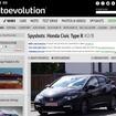 開発テスト中の次期シビックタイプRの姿を捉えた『auto evolution』