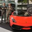 左から、エジナルド ベルトーリ氏、マウリツィオ レジャーニ氏、アラン デラムラ氏