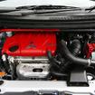 コルト ラリーアート バージョンR。エンジンは1.5Lの4G15型MIVECターボ