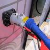 CHAdeMO仕様の急速充電器用EV充電コネクタ