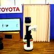 国際福祉機器展H.C.R.2012で公開されたトヨタの生活支援ロボットのデモンストレーション