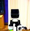 ステレオカメラが装着され、対象物の距離と位置を見極める