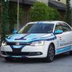 フォルクスワーゲンが主催するエコドライブ世界選手権が26日、米国で開催される。写真は競技車両の「ジェッタハイブリッド」。