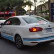 VW ジェッタハイブリッド(Think Blue. World Championship)