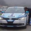 VW 競技車両はジェッタハイブリッドだ